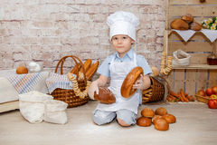 The young chef Royalty Free Stock Image
