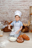 The young chef royalty free stock photography