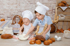 The young chef Royalty Free Stock Photo