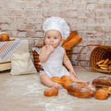 The young chef Stock Photography