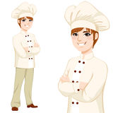 Young Chef Man Standing Royalty Free Stock Photography