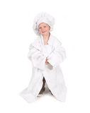Young Chef Who Has Yet to Grow Up Royalty Free Stock Images