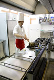 Young chef working Royalty Free Stock Photography