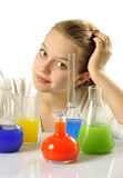 Young chemist Royalty Free Stock Images