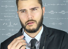 Young chemist Royalty Free Stock Photo
