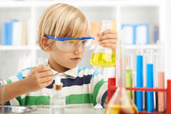 Young chemist Stock Photography