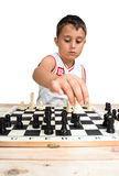 Young chess-player Stock Images