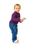 Young Child With A Book Royalty Free Stock Photography
