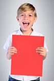 Young child boy Stock Photo