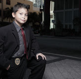 Young child detective Royalty Free Stock Photo