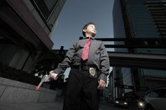 Young child detective Royalty Free Stock Photography