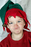 Young child elf1 Royalty Free Stock Images