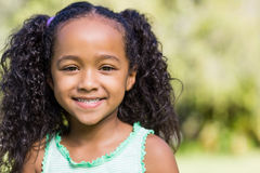 A young child posing Royalty Free Stock Photography