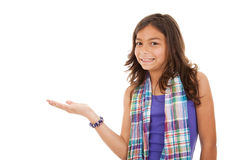 Free Young Child Showing Something Stock Photo - 9490490