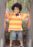 Young child smiling Royalty Free Stock Photography
