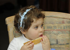 Young child at a wedding Stock Photography