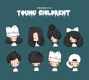 Young children Royalty Free Stock Image