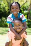 Young children posing Stock Photo