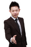 Young Chinese Business Man Royalty Free Stock Image