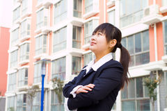 Young chinese businesswoman Stock Photos