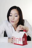 Young chinese woman Royalty Free Stock Images