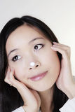 Young chinese woman Royalty Free Stock Photo