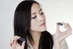 Young chinese woman Stock Image