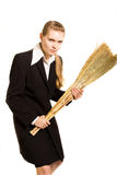 Young cleaner Stock Photos
