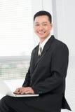 Happy user Royalty Free Stock Photo
