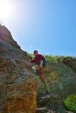 Young climber Stock Photo