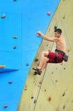 Young climber Royalty Free Stock Photos