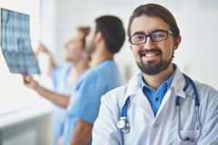 Young clinician Stock Photography