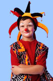 Young Clown Smiling Royalty Free Stock Photography