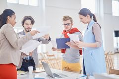 Young colleagues Stock Images