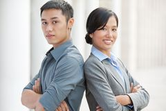 Young colleagues Royalty Free Stock Photo