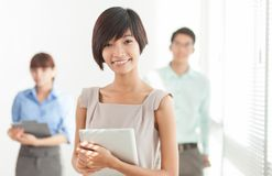 Young colleagues Royalty Free Stock Image