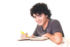 Young college student. Royalty Free Stock Photos