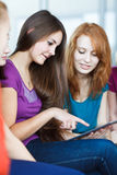Young college students in class Royalty Free Stock Photo