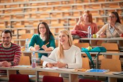 Free Young College Students On University Education Royalty Free Stock Photo - 157319225