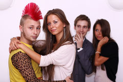 Young college or university student Royalty Free Stock Photo