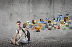 Young Communication Royalty Free Stock Photography