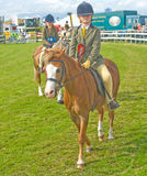 Young competitors at Black Isle Show. Stock Photography