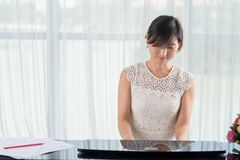 Young composer Stock Images