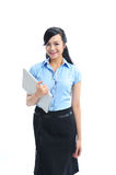 A young confident asian business woman smiling Stock Photo