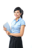 A young confident asian business woman smiling Stock Image