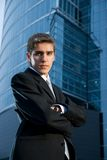 Young confident business man Stock Photo