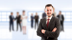 Young and confident business manager Stock Images