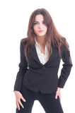 Young and confident business woman Stock Photo