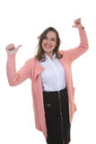 Young confident business woman Royalty Free Stock Images