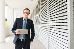 Young confident businessman Stock Image